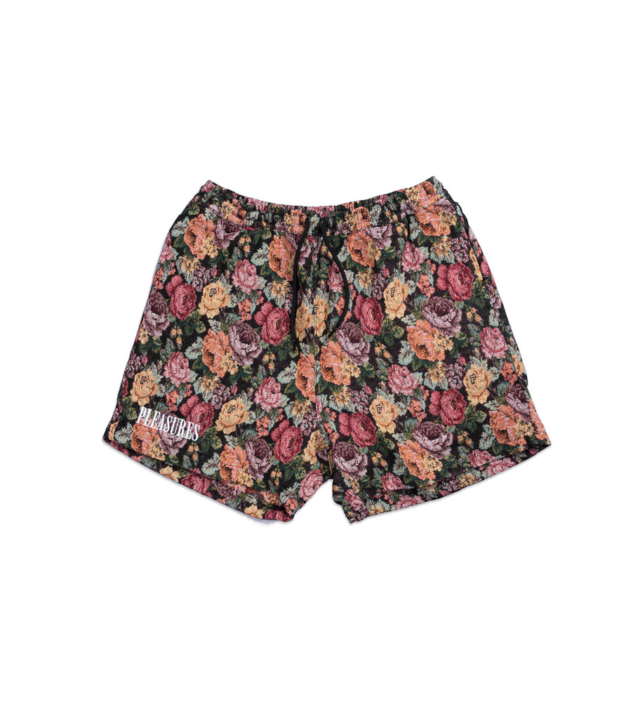 """Woven Shorts """"Floral""""-1"""