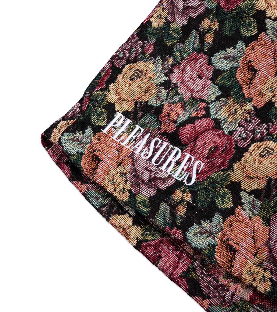 """Woven Shorts """"Floral""""-2"""