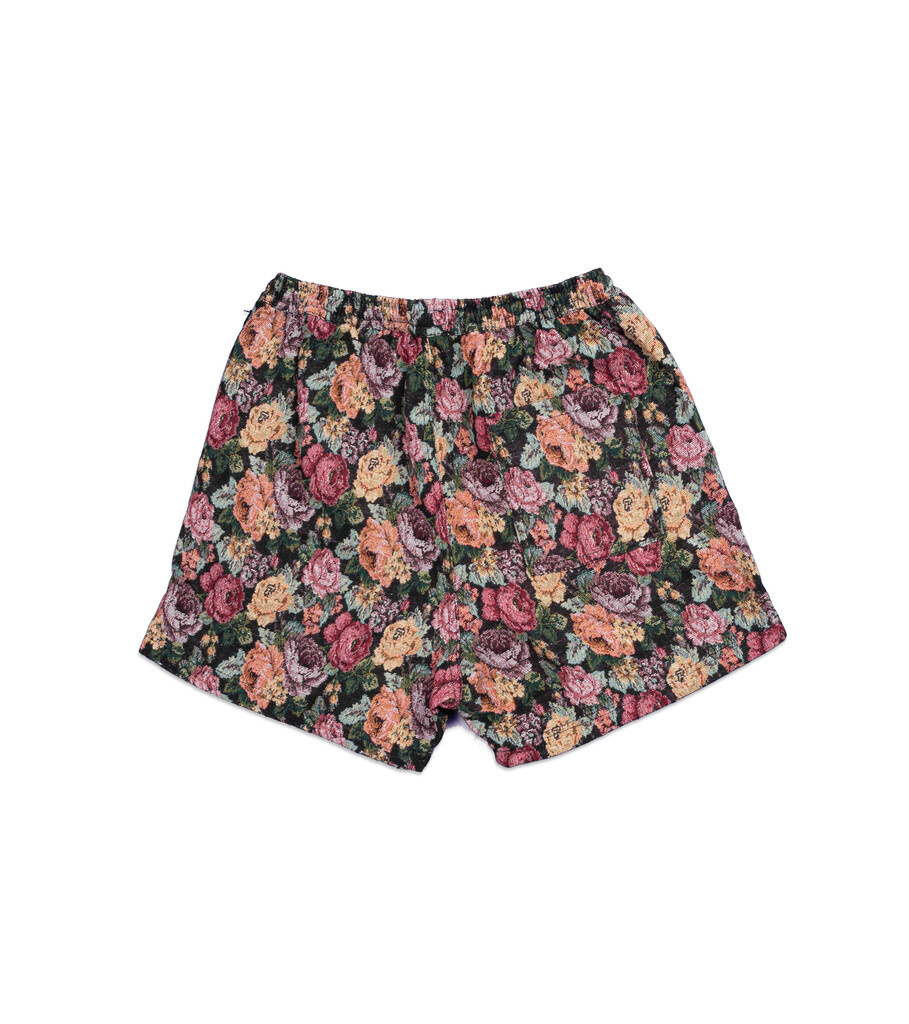 """Woven Shorts """"Floral""""-3"""