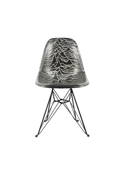 "Joy Division x Modernica Side Shell Eiffel Chair ""Black"""