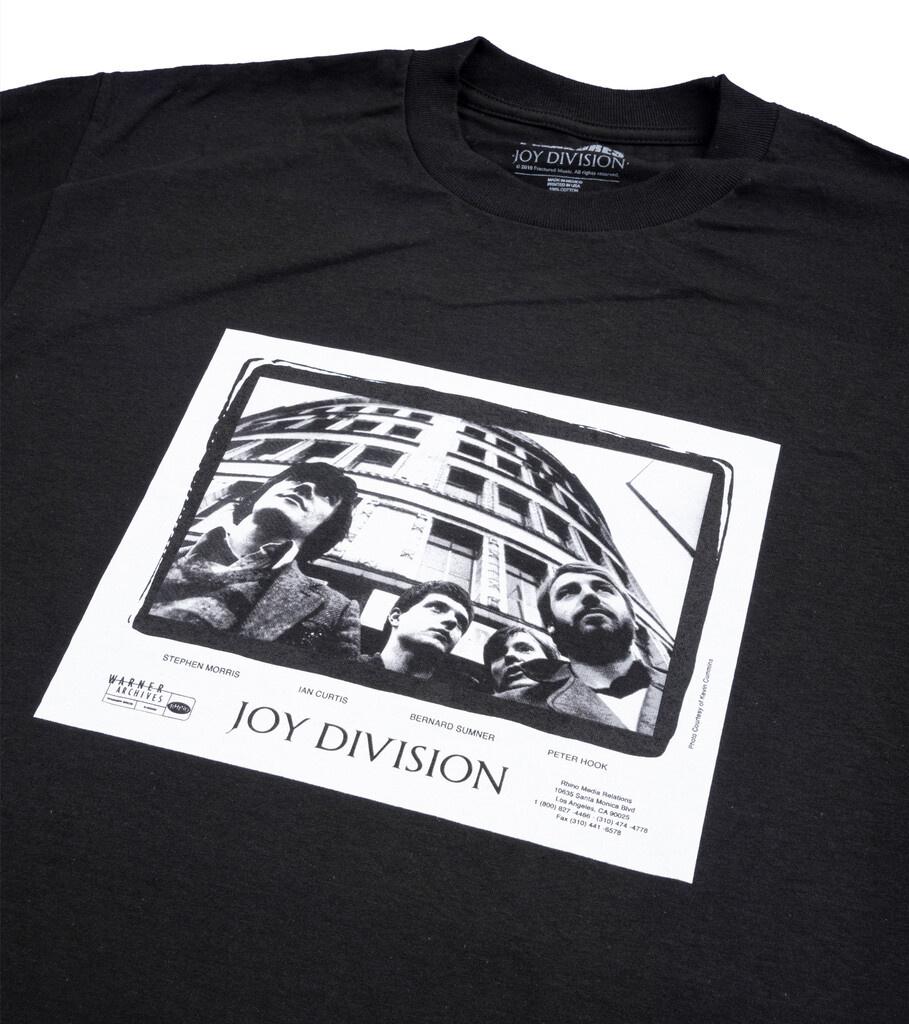 """Joy Division Band Tee """"Black""""-2"""