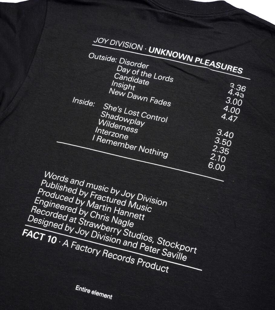 """Joy Division Band Tee """"Black""""-4"""