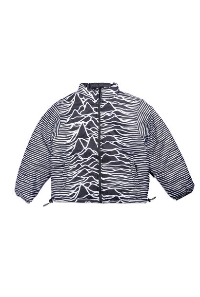 "Joy Division Disorder Reversible Puffer Jacket ""Black"""