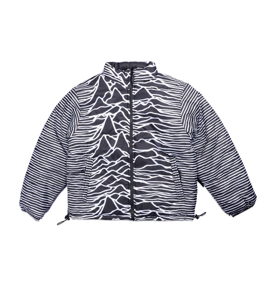 "Joy Division Disorder Reversible Puffer Jacket ""Black""-1"