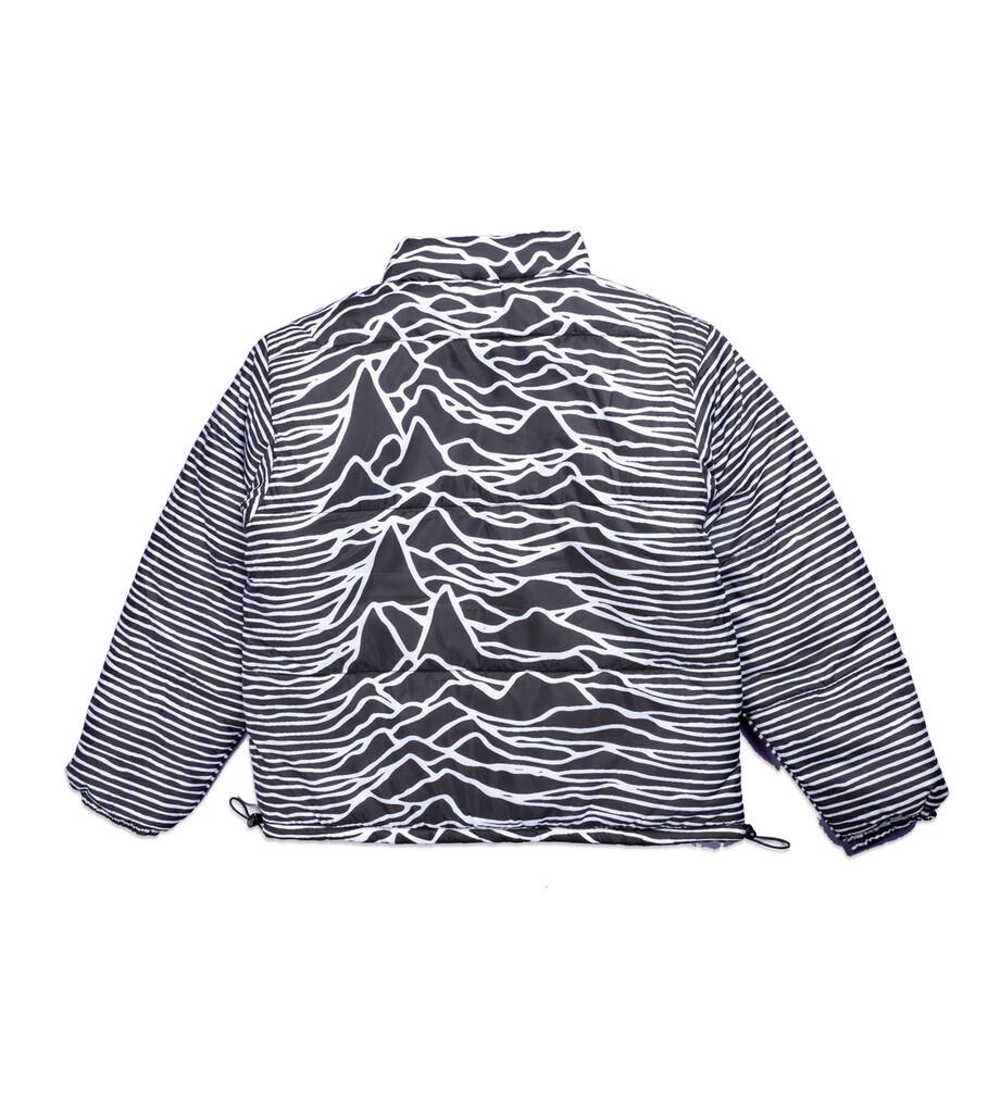 "Joy Division Disorder Reversible Puffer Jacket ""Black""-3"