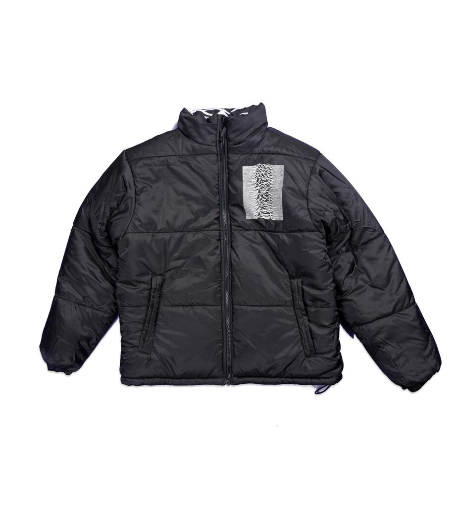 "Joy Division Disorder Reversible Puffer Jacket ""Black""-4"