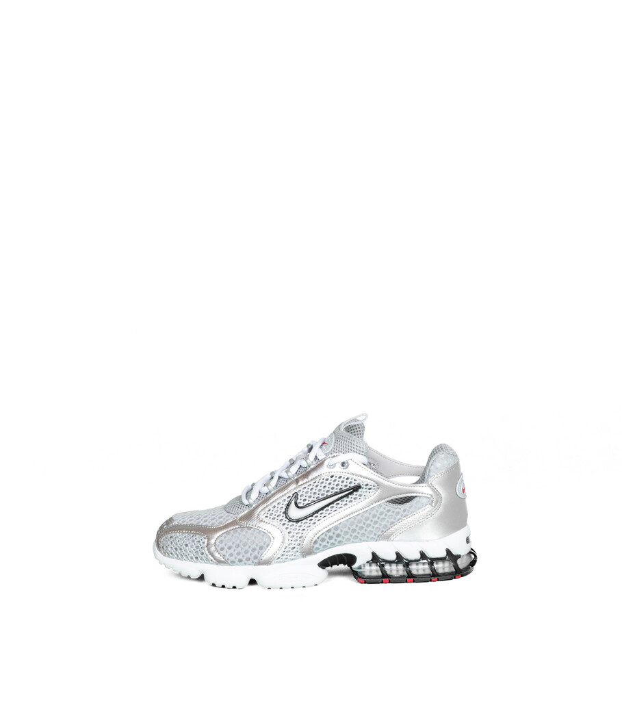 "Air Zoom Spiridon Cage 2 ""Smoke Grey/Metallic Silver""-3"