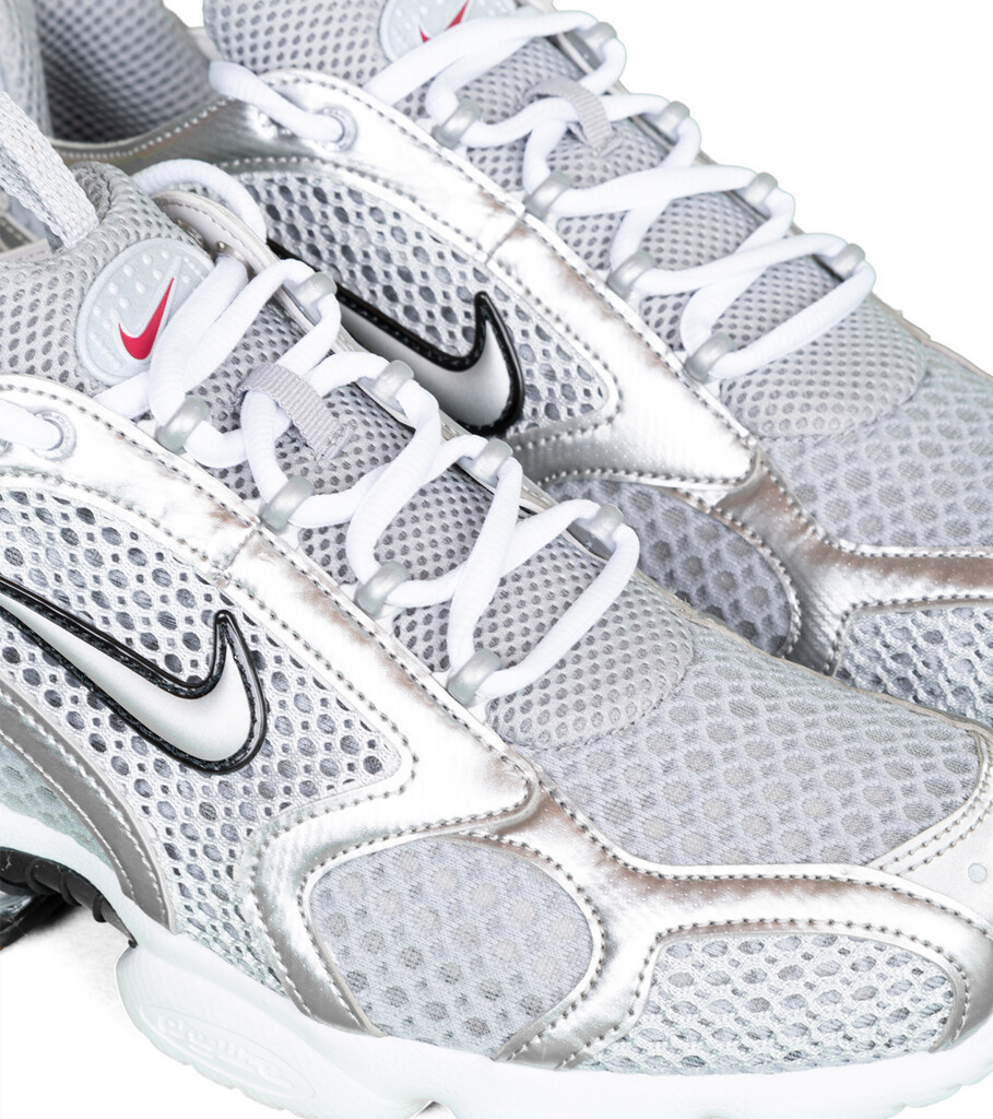"Air Zoom Spiridon Cage 2 ""Smoke Grey/Metallic Silver""-6"
