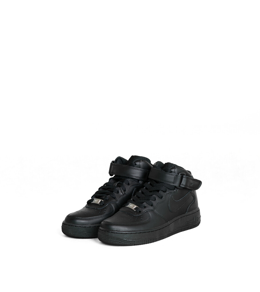 "W Air Force 1 Mid '07 LE ""Black""-1"
