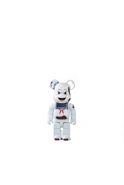 "Ghostbuster Stay Puft Marshmallow Man 400% Be@rbrick ""Anger Face"""