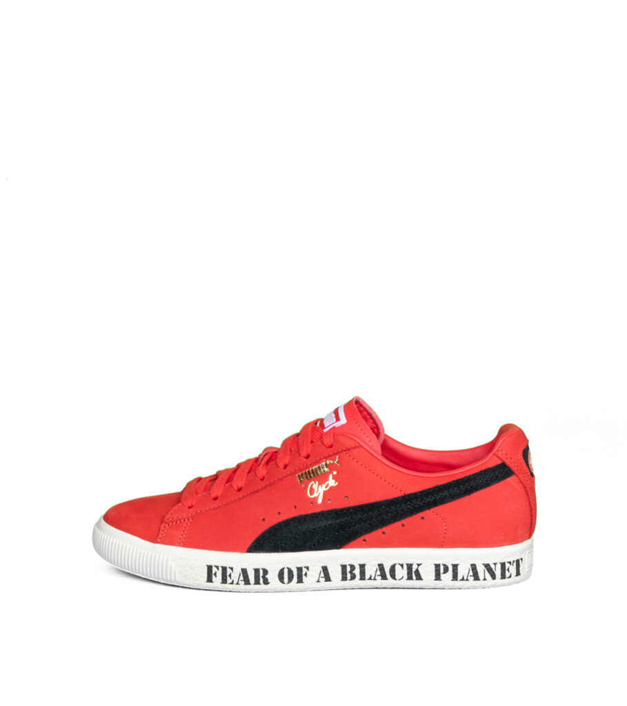 """Clyde x Public Enemy """"High Risk Red/Black""""-3"""