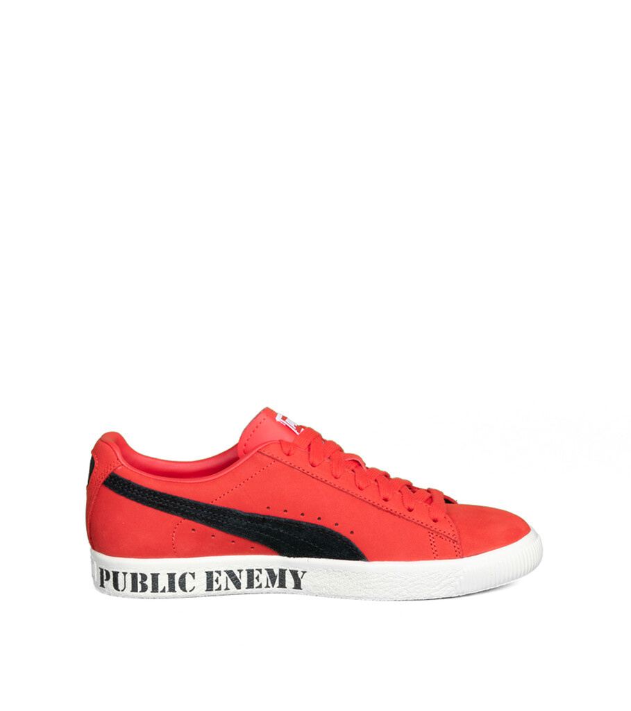 """Clyde x Public Enemy """"High Risk Red/Black""""-4"""