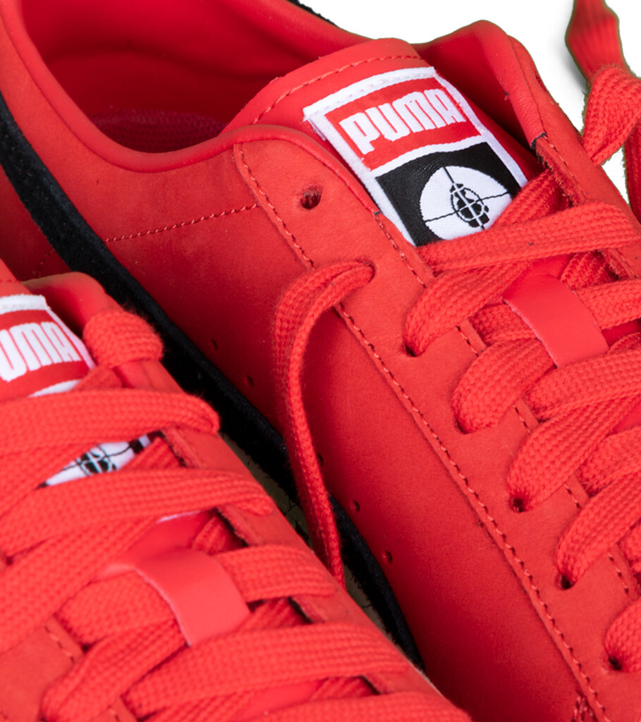 """Clyde x Public Enemy """"High Risk Red/Black""""-6"""