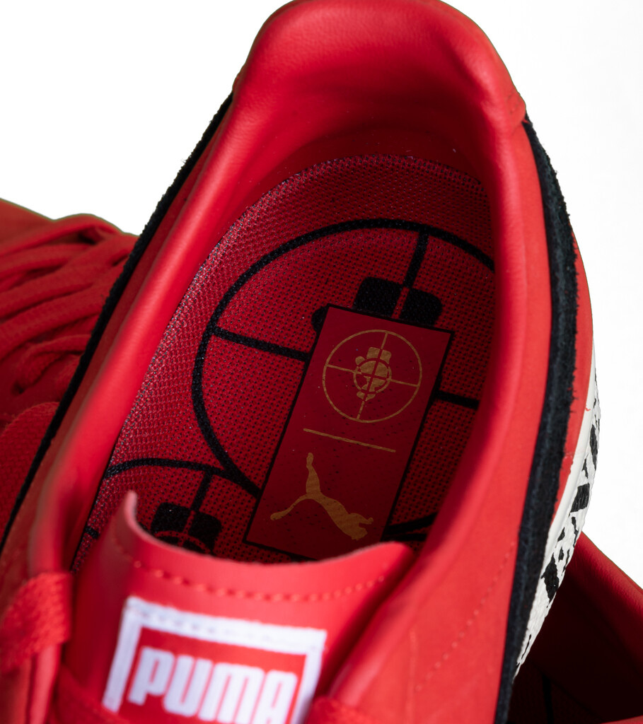 """Clyde x Public Enemy """"High Risk Red/Black""""-7"""