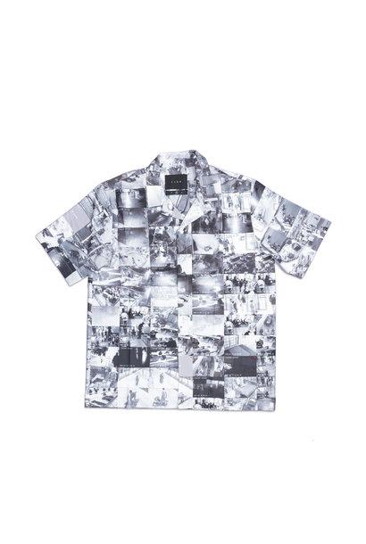 """AOP Camp Shirt """"CCTV"""""""