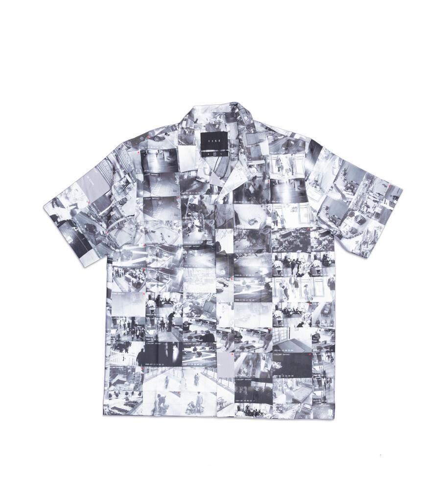 """AOP Camp Shirt """"CCTV""""-1"""