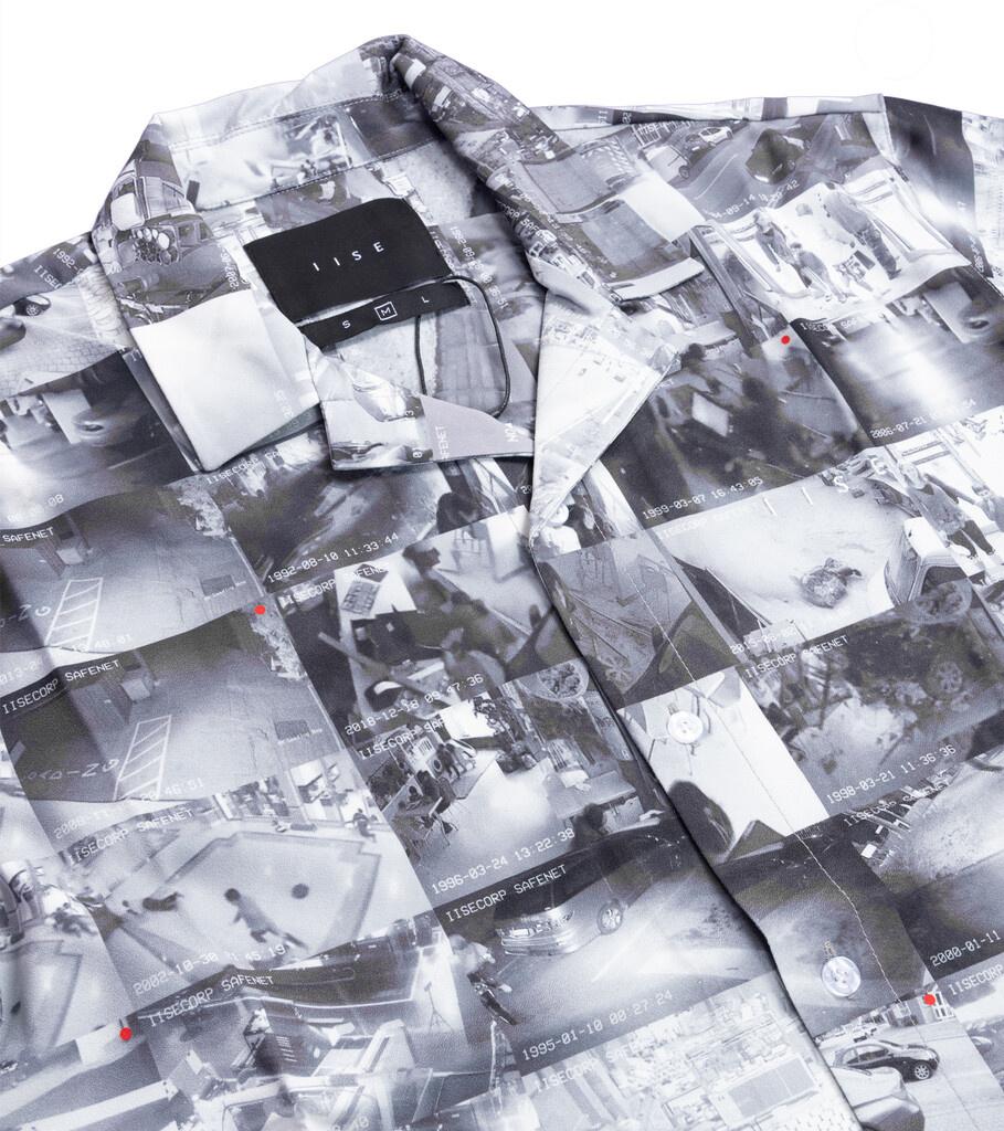 """AOP Camp Shirt """"CCTV""""-2"""