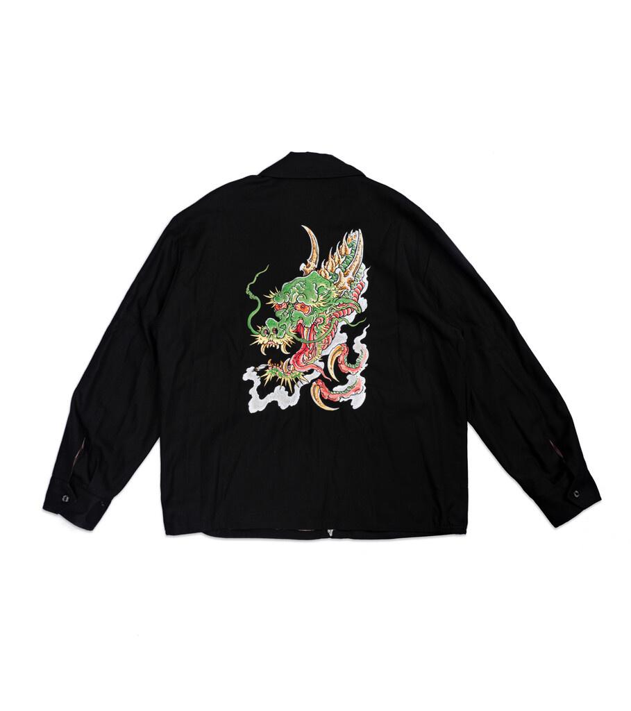 """Vietnam Workers Jacket x Tim Lehi """"Black""""-3"""