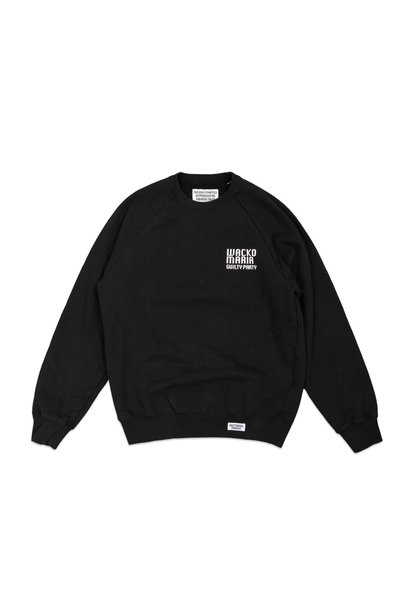 "Heavy Weight Sweatshirt ""Washed Black"""