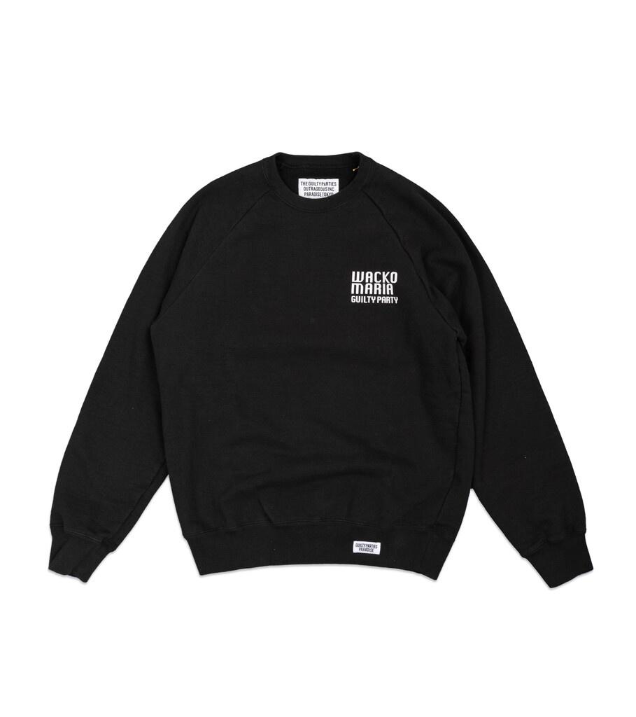 "Heavy Weight Sweatshirt ""Washed Black""-1"