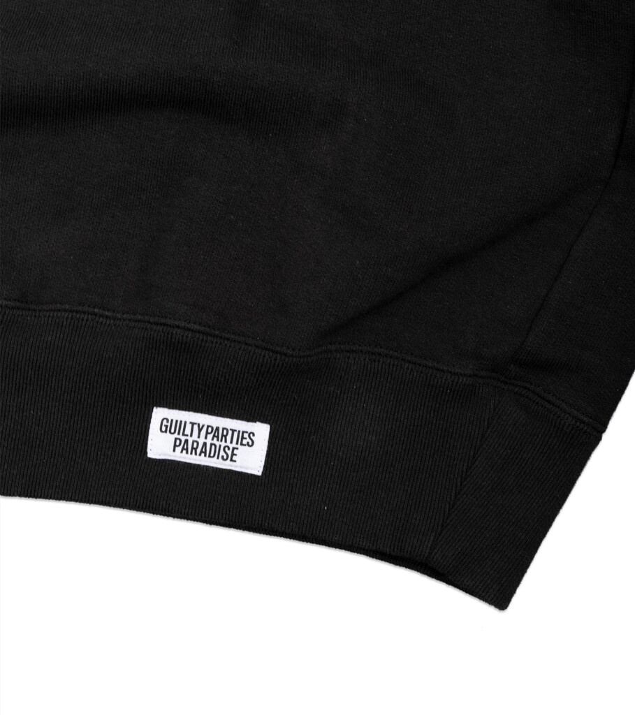 "Heavy Weight Sweatshirt ""Washed Black""-3"