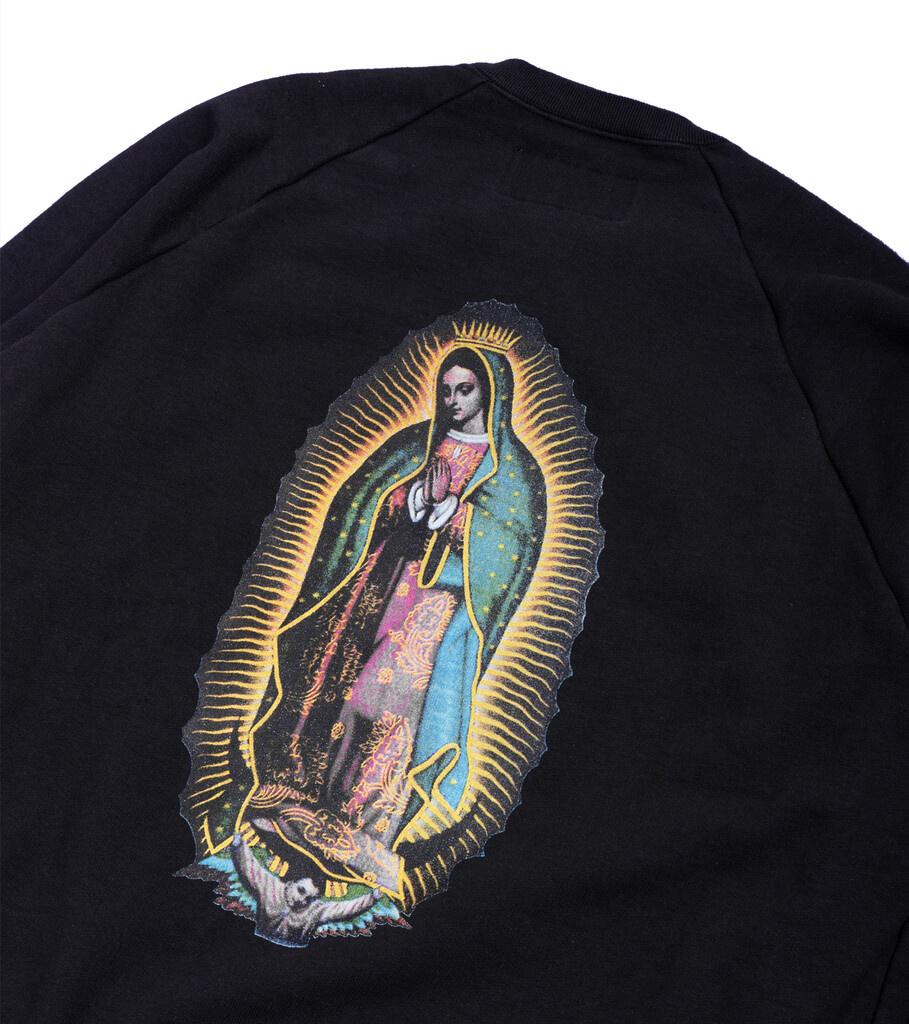 "Heavy Weight Sweatshirt ""Washed Black""-5"