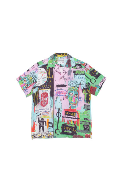 "Hawaiian Shirt x Jean-Michel Basquiat ""Black/Green"""