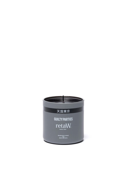 "retaW Fragrance Candle ""Grey"""