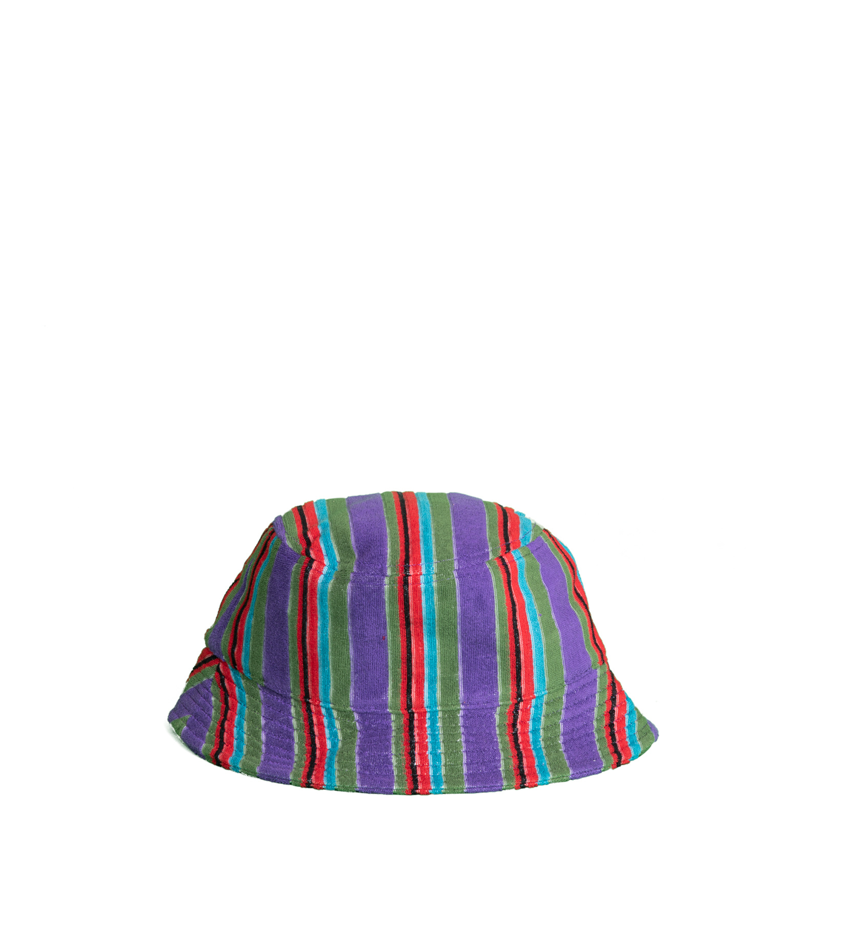 """X-Girl Striped Bucket Hat """"Purple French Terry """"-2"""