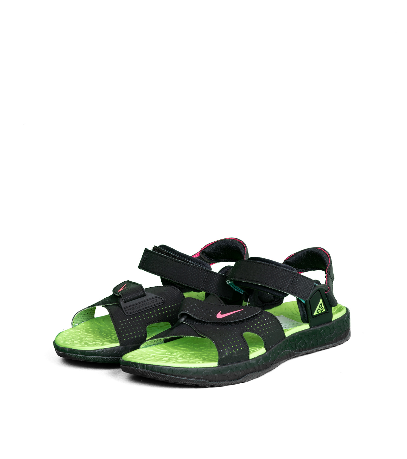 """ACG Deschutz Sandal """"Black/Green""""-1"""