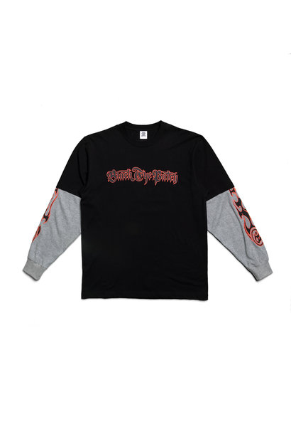 "Layered LS Tee ""Black"""