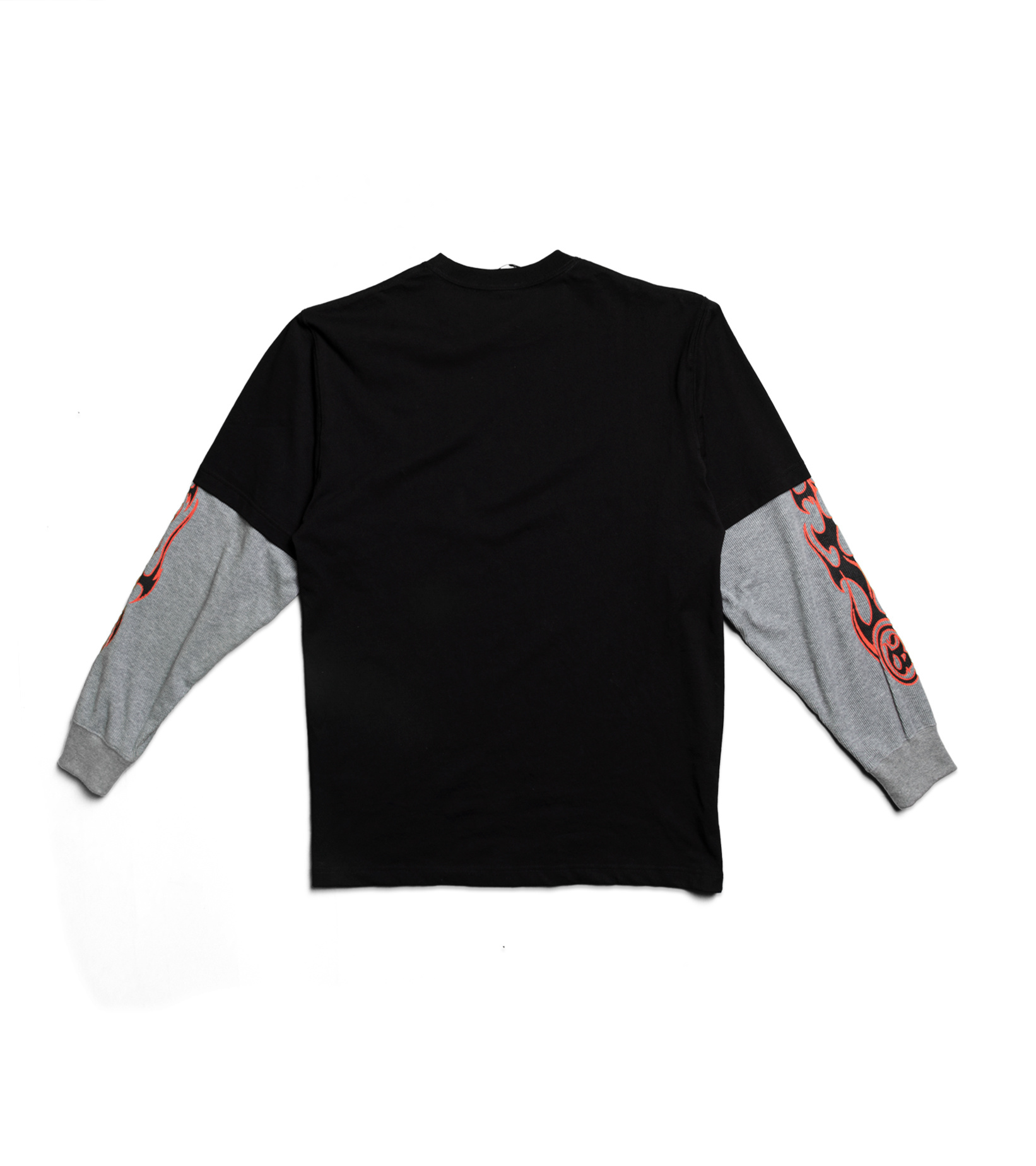 "Layered LS Tee ""Black""-4"
