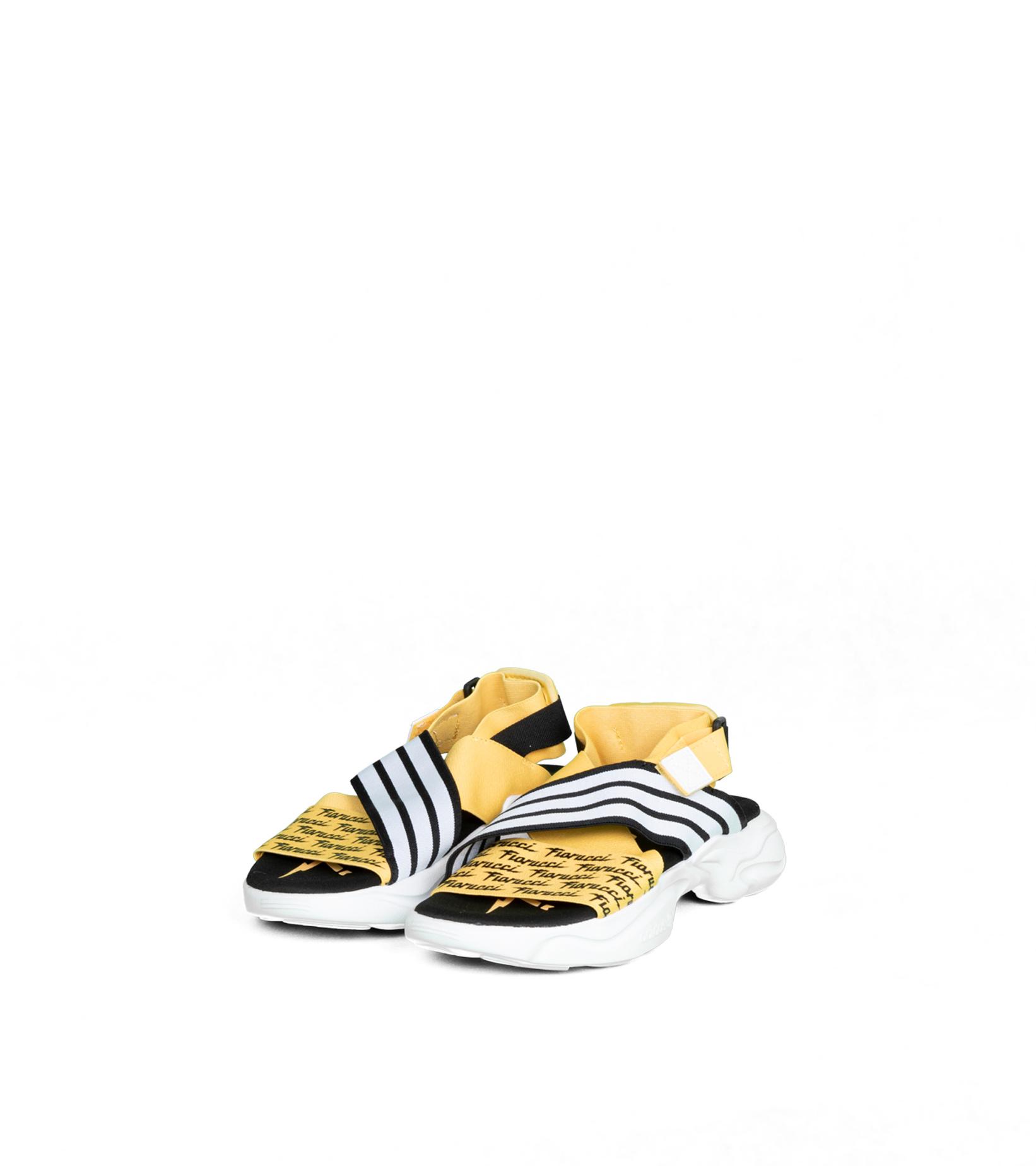 """Magmur Sandal W x Fiorucci """"Yellow/White""""-1"""