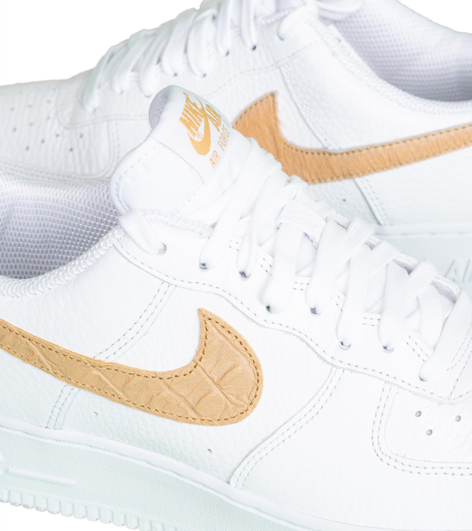 """Air Force 1 LV8 """"White/Club Gold""""-6"""