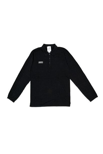 "Spezial Newsam LS Polo Shirt ""Black"""