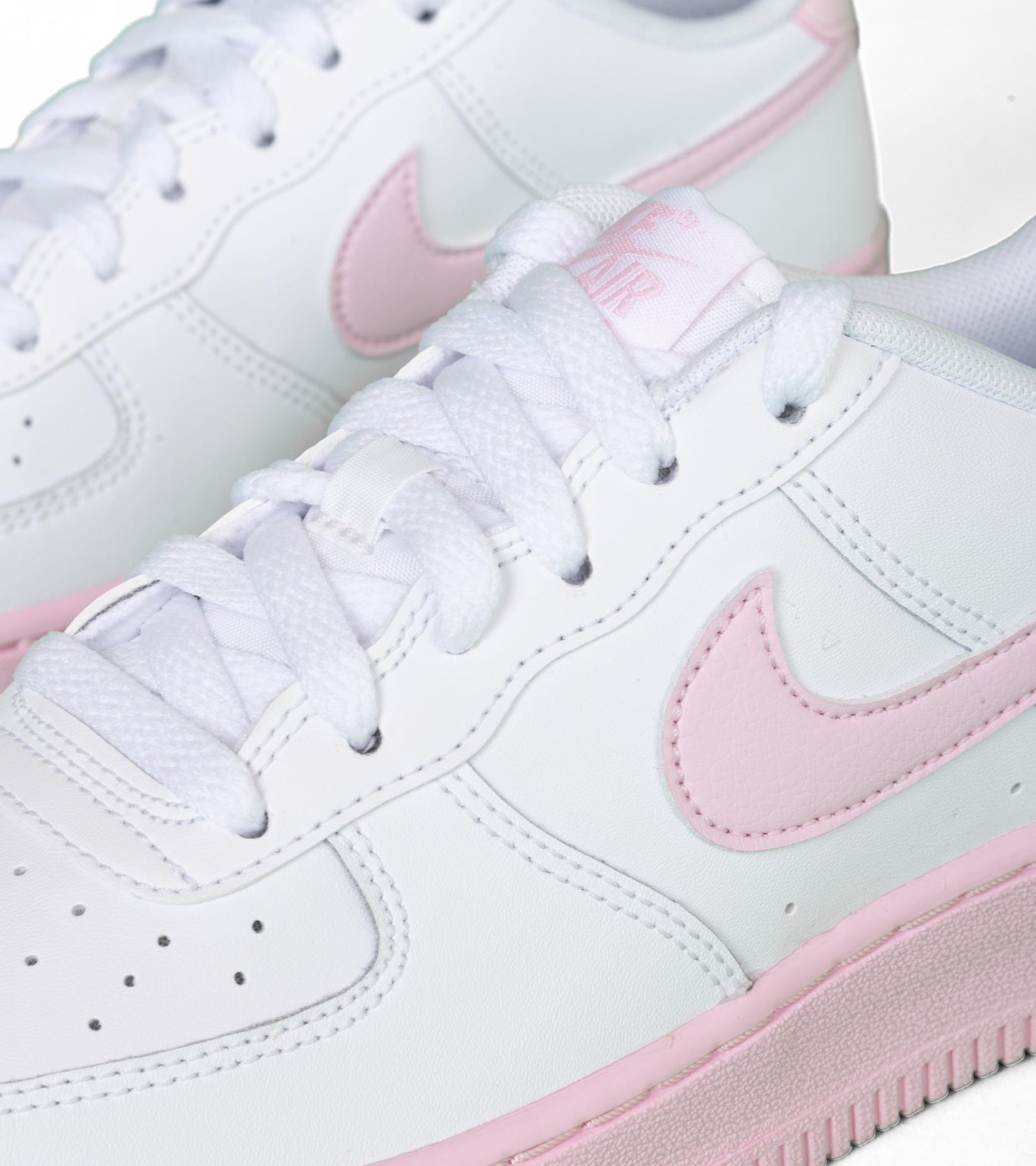 "Air Force 1 (GS) ""White/Pink Foam""-5"