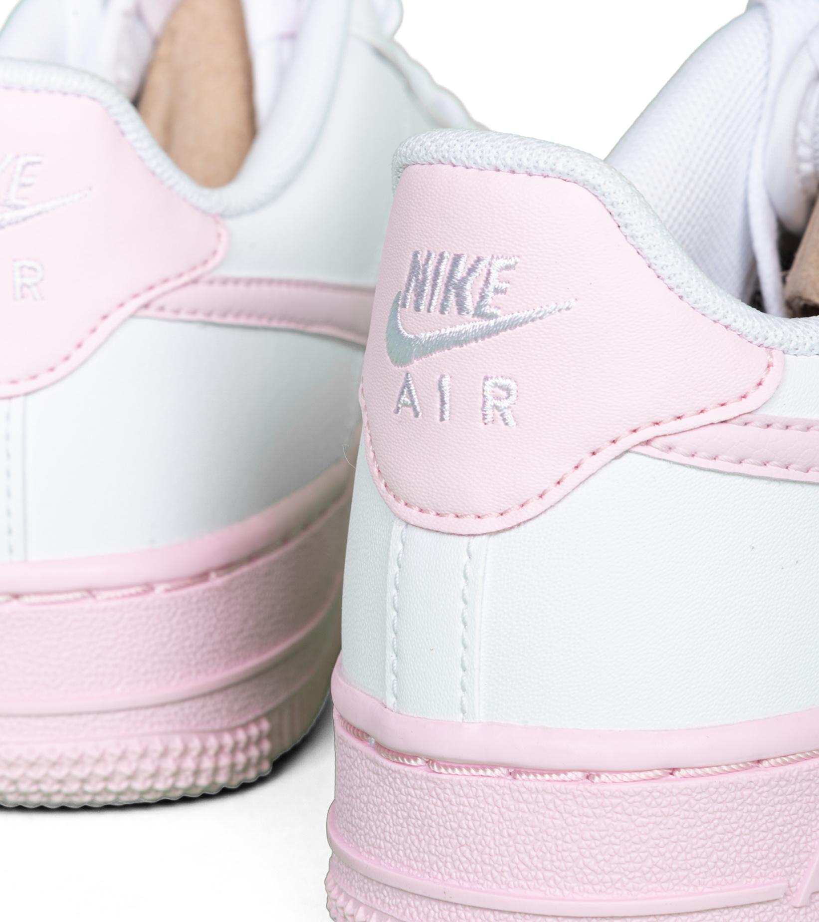 "Air Force 1 (GS) ""White/Pink Foam""-6"