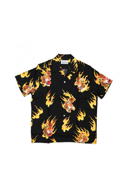 "Hawaiian Tiger Shirt x Tim Lehi ""Black"""