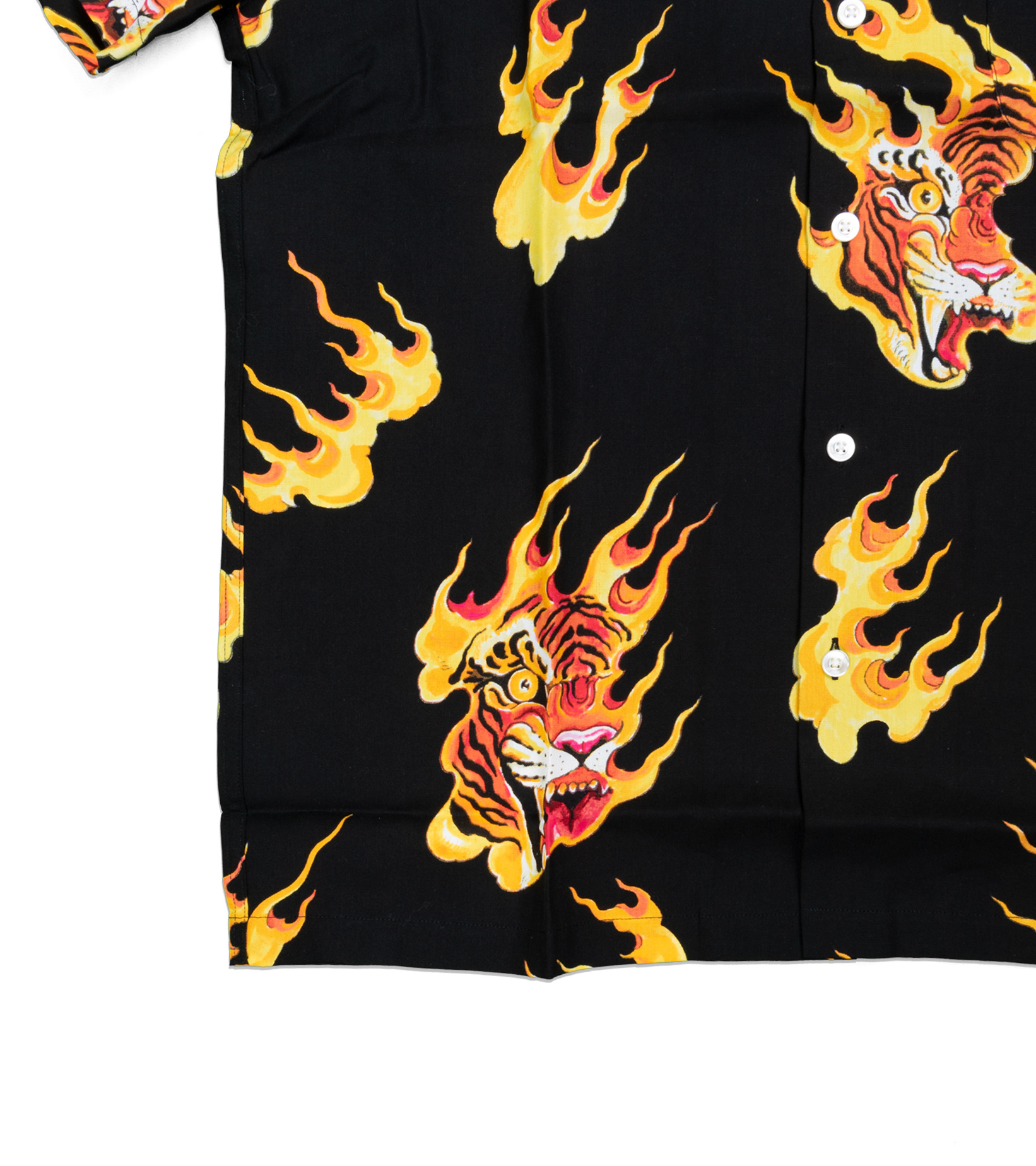 "Hawaiian Tiger Shirt x Tim Lehi ""Black""-2"