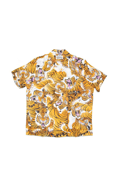 "Hawaiian Tiger Shirt x Tim Lehi ""Yellow"""