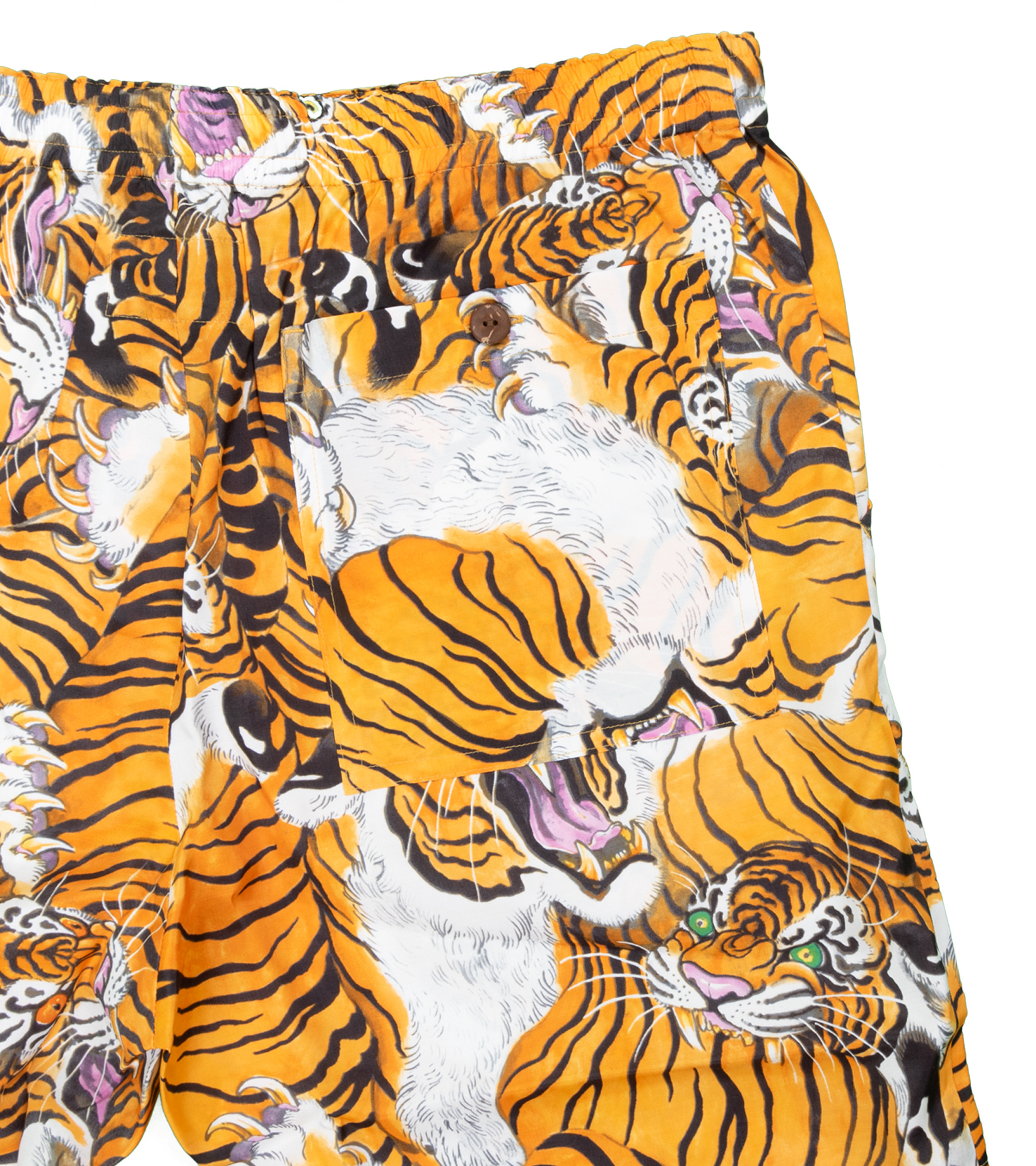 """Hawaiian Tiger Shorts x Tim Lehi """"Yellow""""-2"""