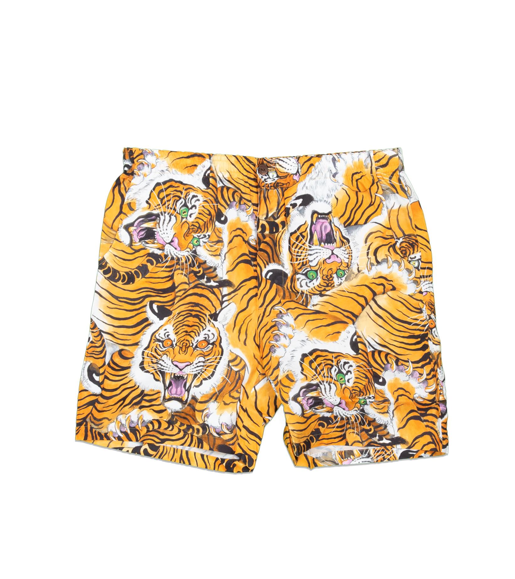 """Hawaiian Tiger Shorts x Tim Lehi """"Yellow""""-3"""