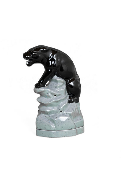 "Black Panther Incense Burner ""Black"""