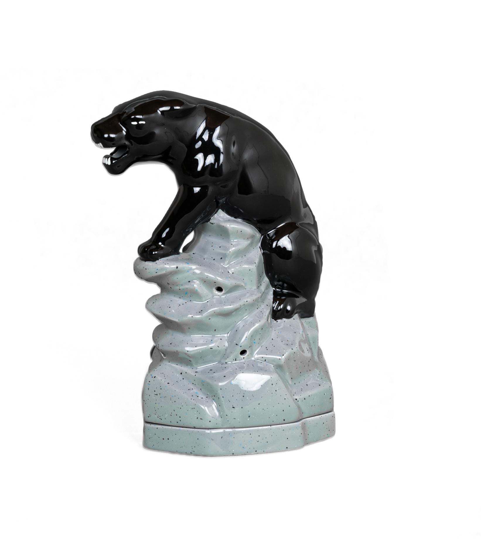 """Black Panther Incense Burner """"Black""""-1"""