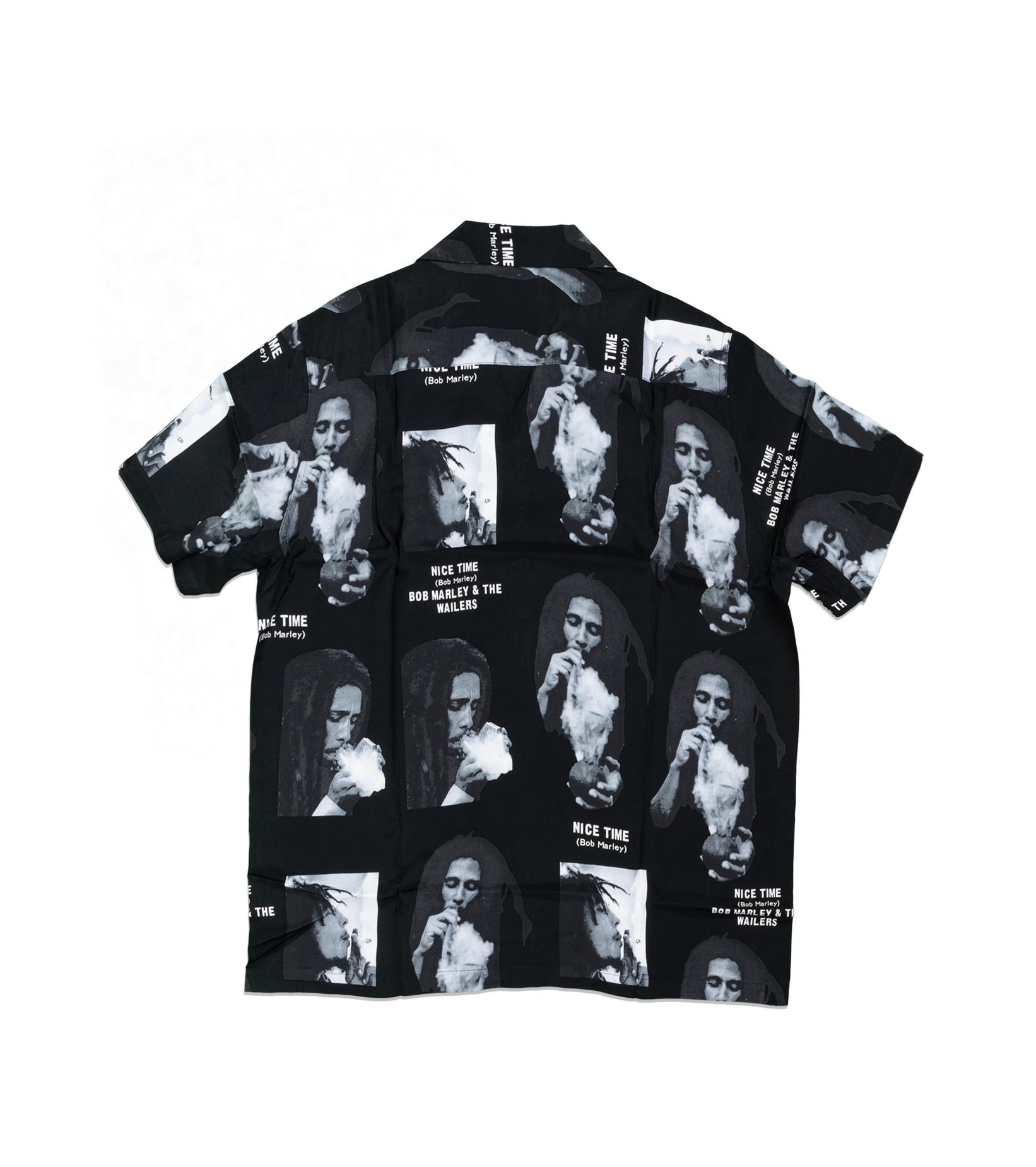 """Hawaiian Shirt x Bob Marley """"Black""""-4"""