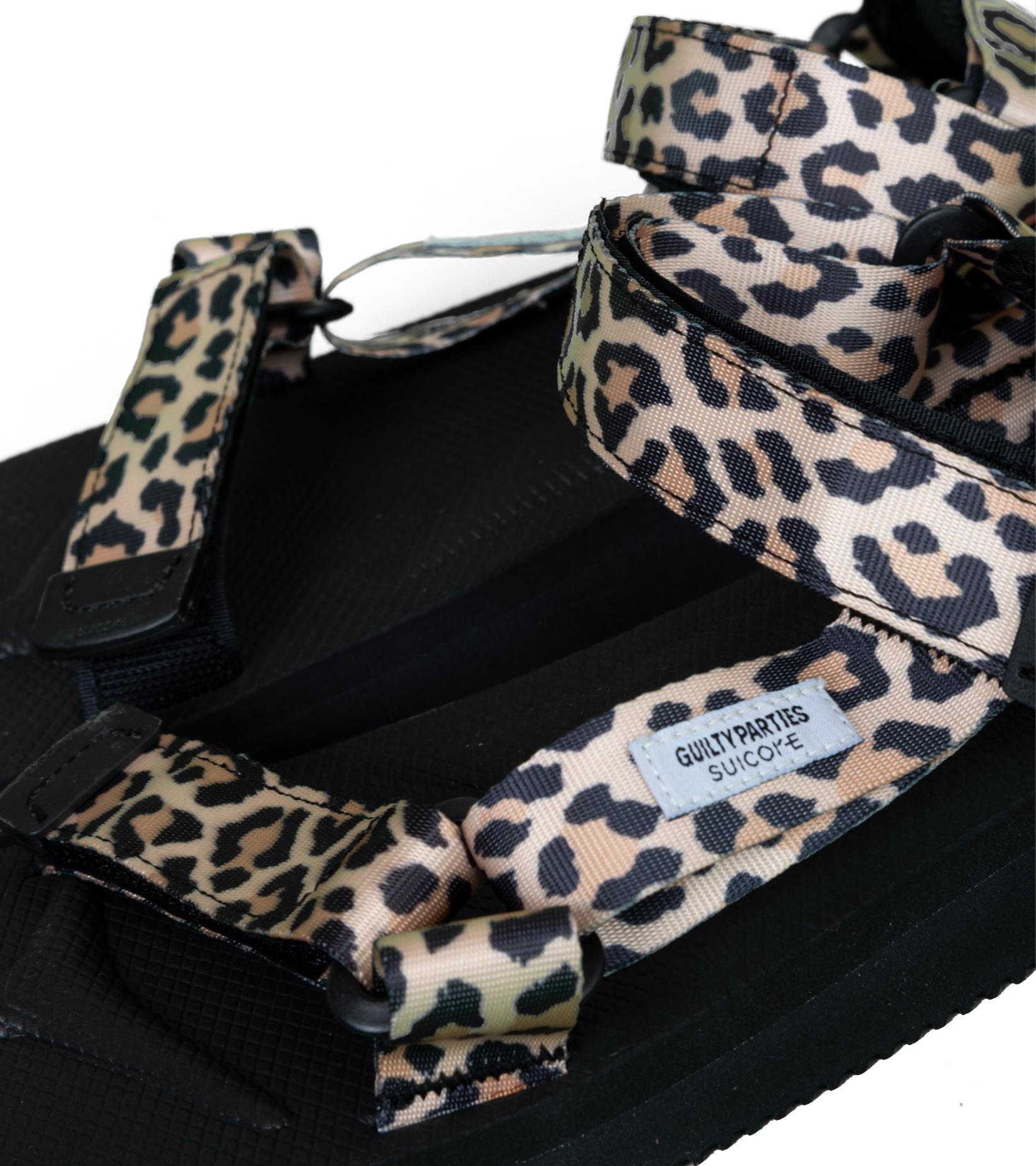 "Depa Cab Beach Sandal x Wacko Maria ""Leopard""-6"