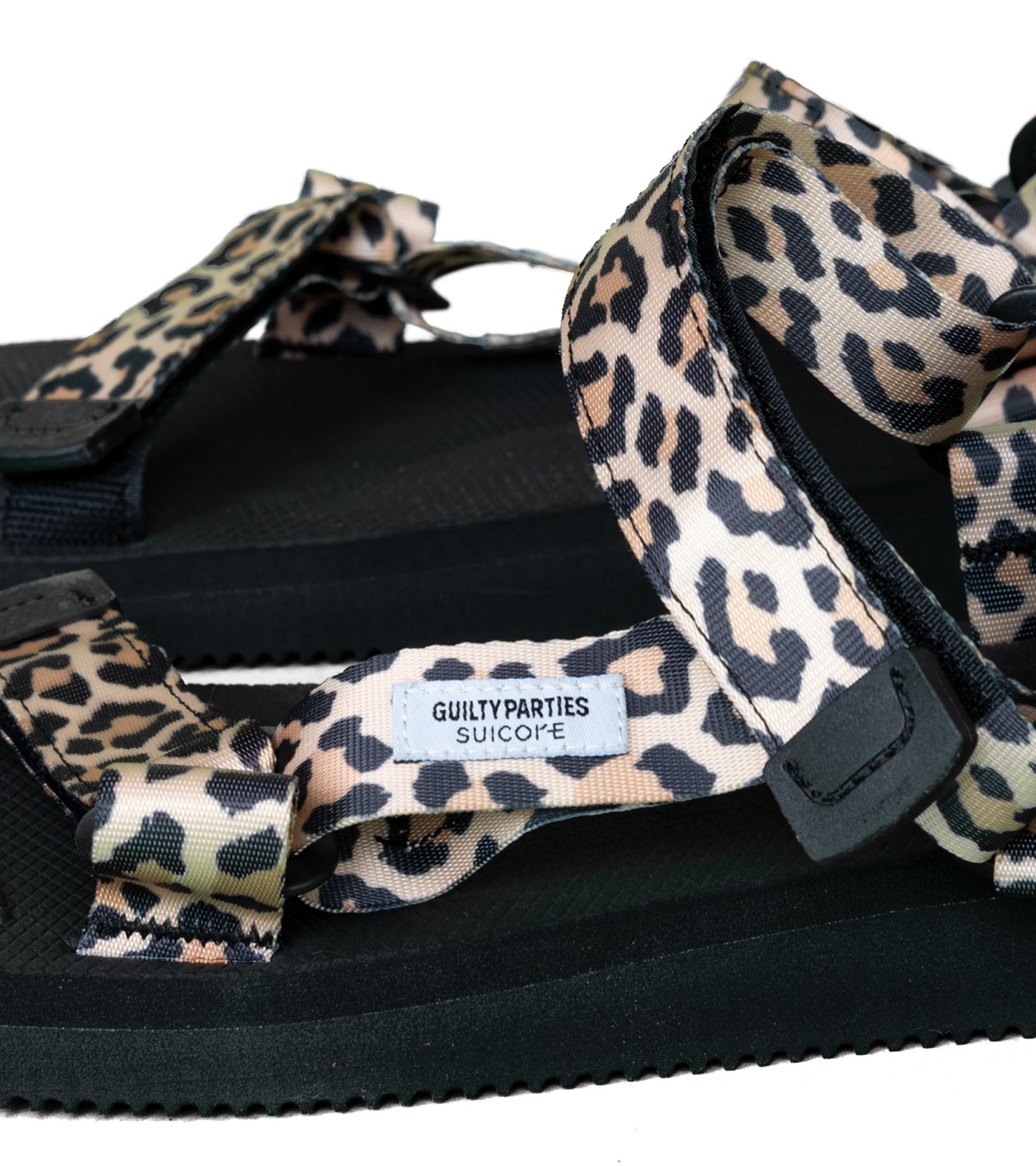 "Depa Cab Beach Sandal x Wacko Maria ""Leopard""-7"