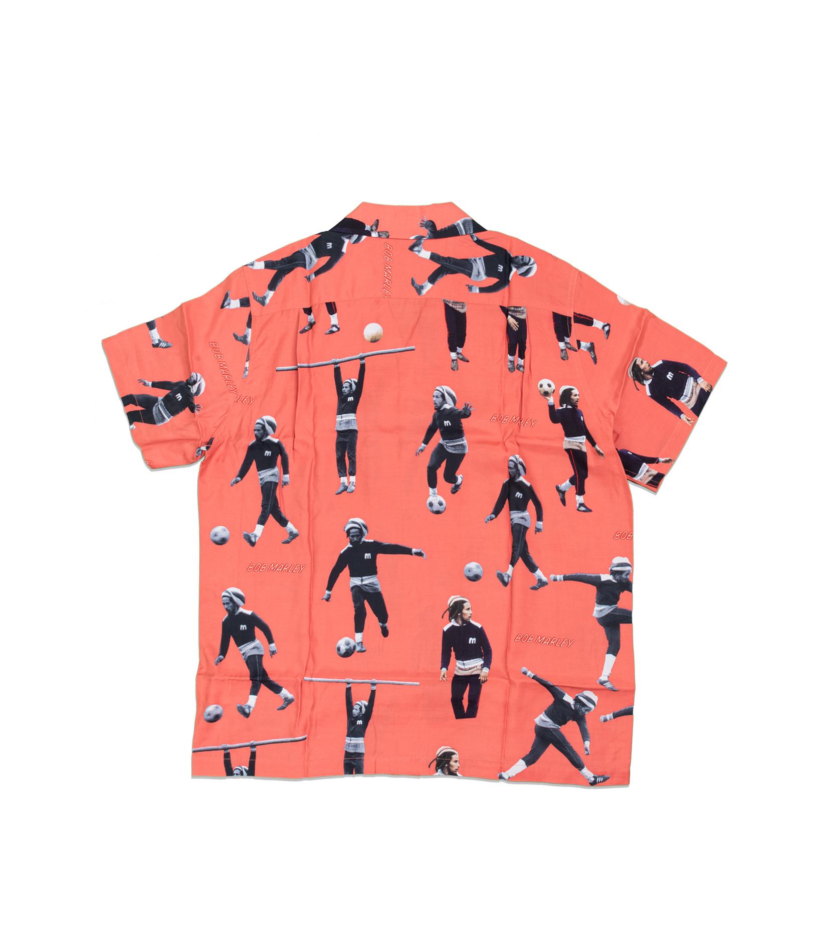 """Hawaiian Shirt x Bob Marley """"Red""""-4"""