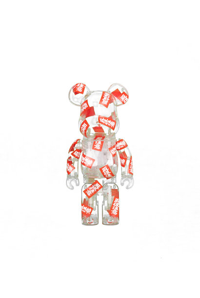 "Black Eye Patch Handle With Care 400% Be@Rbrick ""Clear"""