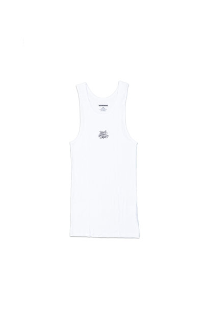 "Tank Top x Mr. Cartoon (2-Pack) ""White"""